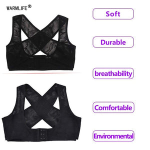 Under-Bust Comfort Support Brace - Black
