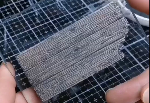 Weathered Wood Polymer Clay Tutorial