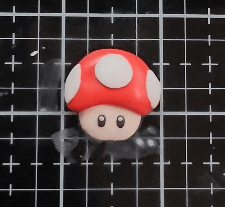 Finished Polymer Clay Figurine