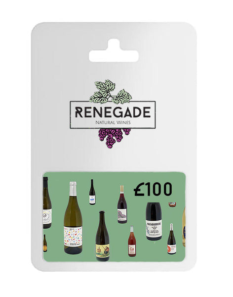 £100 Gift card for natural wine subscription