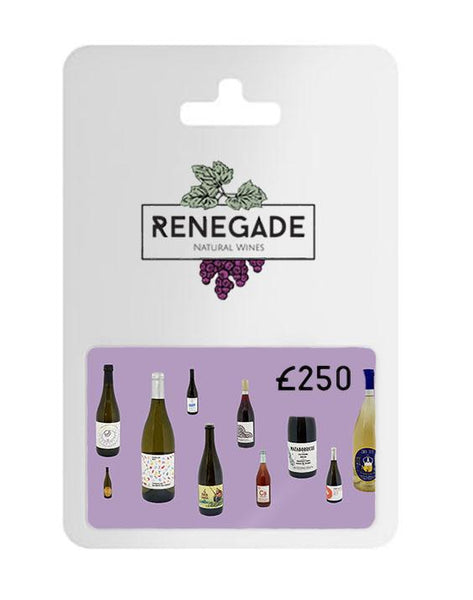 £250 Gift card for natural wine subscription