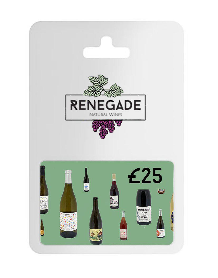 £25 Gift card for natural wine subscription
