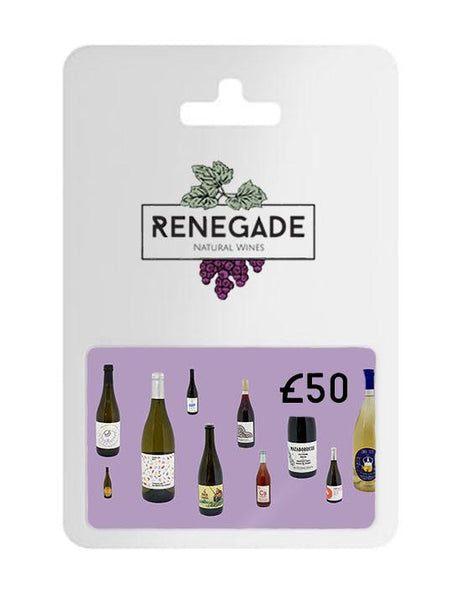 £50 Gift card for natural wine subscription