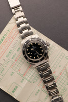 1984 Rolex 5513 Spider-Dial Submariner - Unpolished