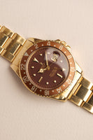 1969 Rolex 1675 /8 Gold Nipple Dial GMT