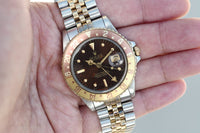 "1979 Rolex ""Rootbeer"" two-tone 16753 GMT - original condition"