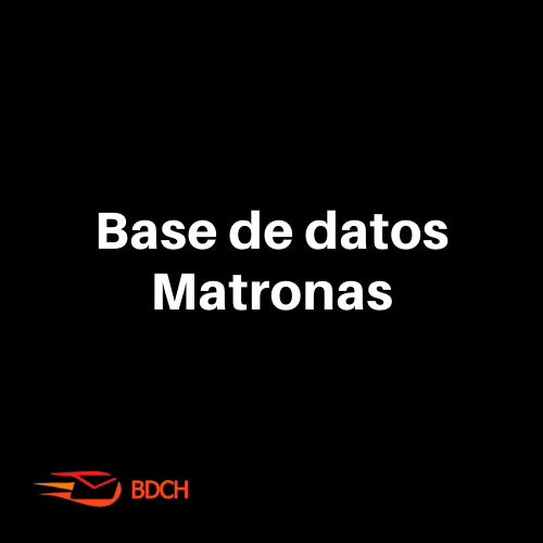 Base de datos de Matronas en Chile (3.481 Contactos)