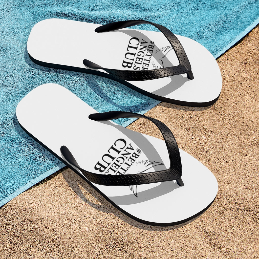 Better Angels Unisex Flip-Flops