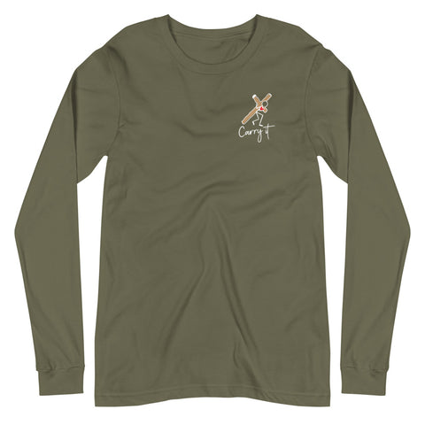 Women's Religious Long Sleeve Tee (dark colors)