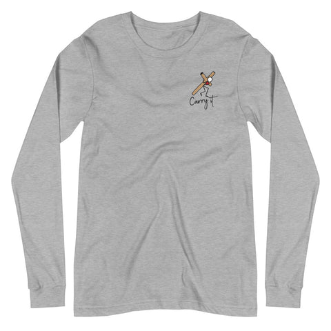 Women's Religious Long Sleeve Tee (light colors)