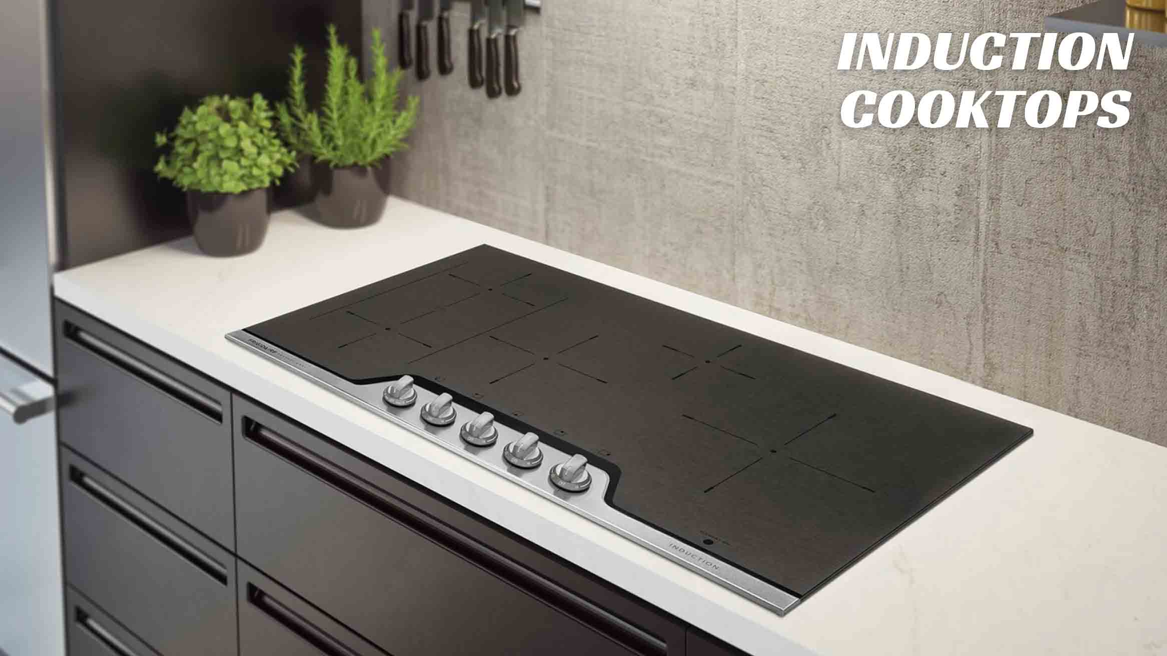 induction cooktop - Steel and Water