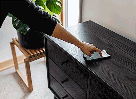 Lock your Forti Goods drawer with the mobile app