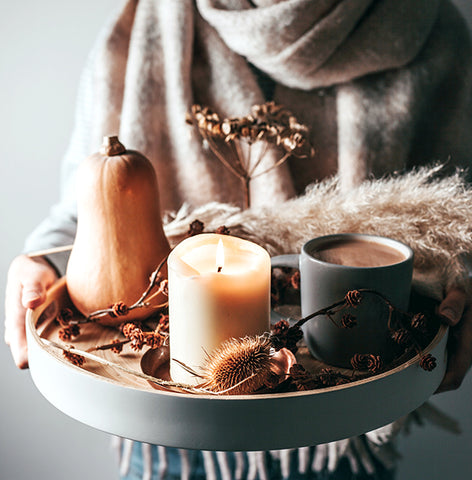 natural Fall decor for the home