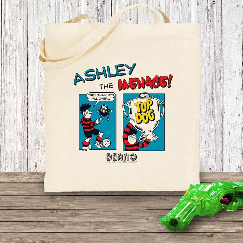 Beano Classic Comic Strip Top Dog Tote Bag - The Personal Shop
