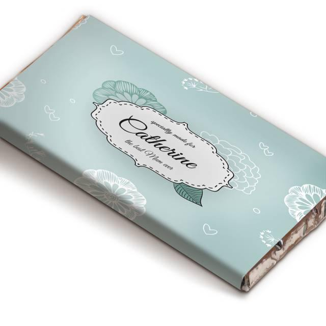 Best Ever Floral Chocolate Bar - The Personal Shop