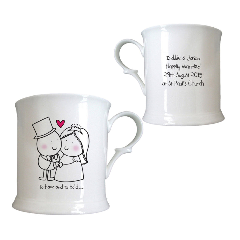 Chilli & Bubbles To Have & Hold Half Pint Tankard - The Personal Shop