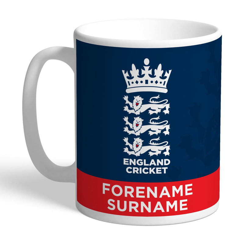 England Cricket Bold Crest Mug - The Personal Shop