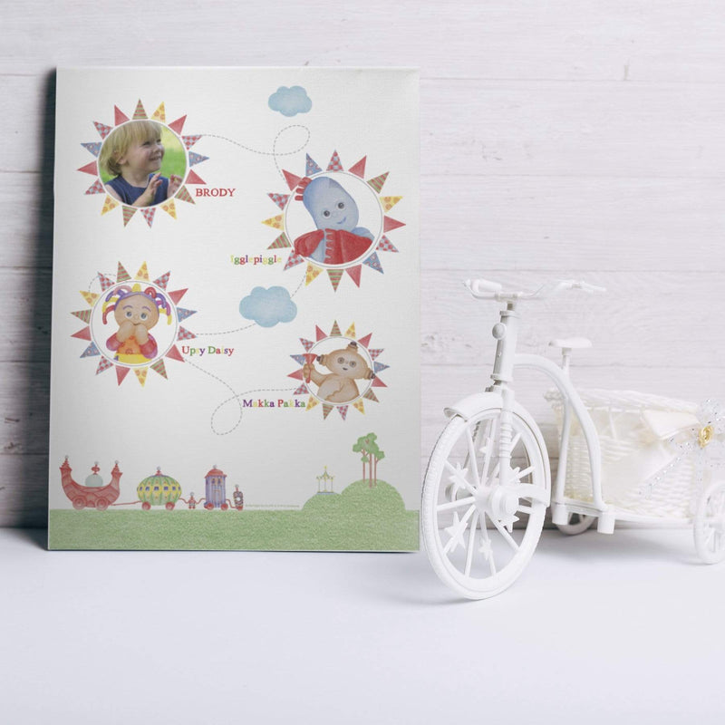 In The Night Garden Colouring Book Photo Canvas - The Personal Shop