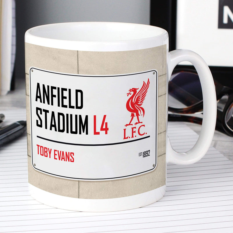 Liverpool FC Street Sign Mug - The Personal Shop