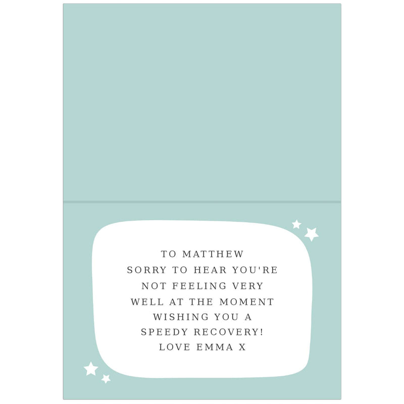 Personalise With Your Own Message Card - The Personal Shop