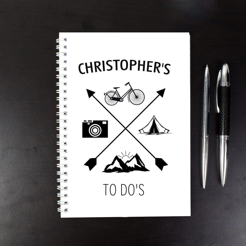 Personalised Adventure A5 Notebook - The Personal Shop