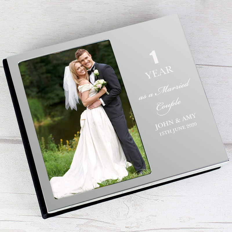 Personalised Anniversary 6x4 Photo Frame Album - The Personal Shop
