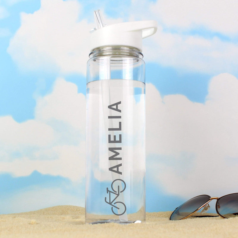 Personalised Bicycle Island Water Bottle - The Personal Shop