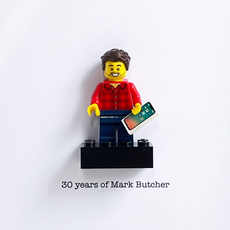 Personalised Bricked Mini Figured - The Personal Shop
