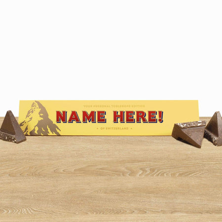 Personalised Chocolate Toblerone - The Personal Shop