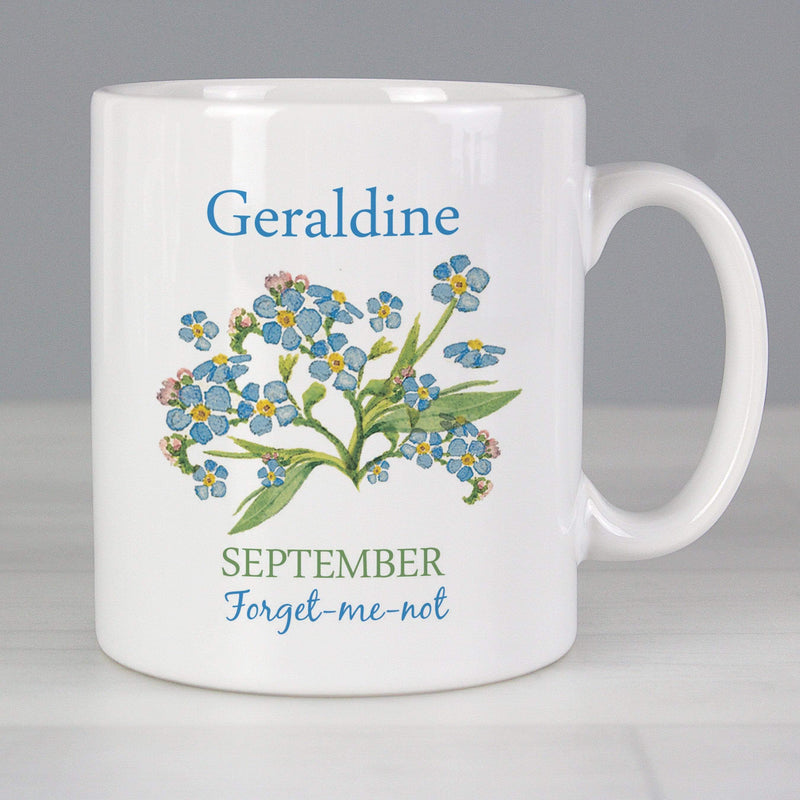 Personalised Country Diary September Mug - The Personal Shop