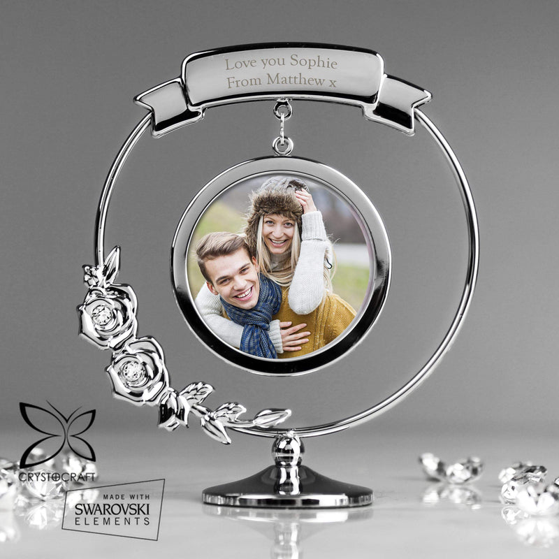 Personalised Crystocraft Photo Frame Ornament - The Personal Shop
