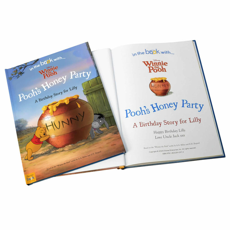 Personalised Disney Winnie the Pooh Birthday Storybook - The Personal Shop