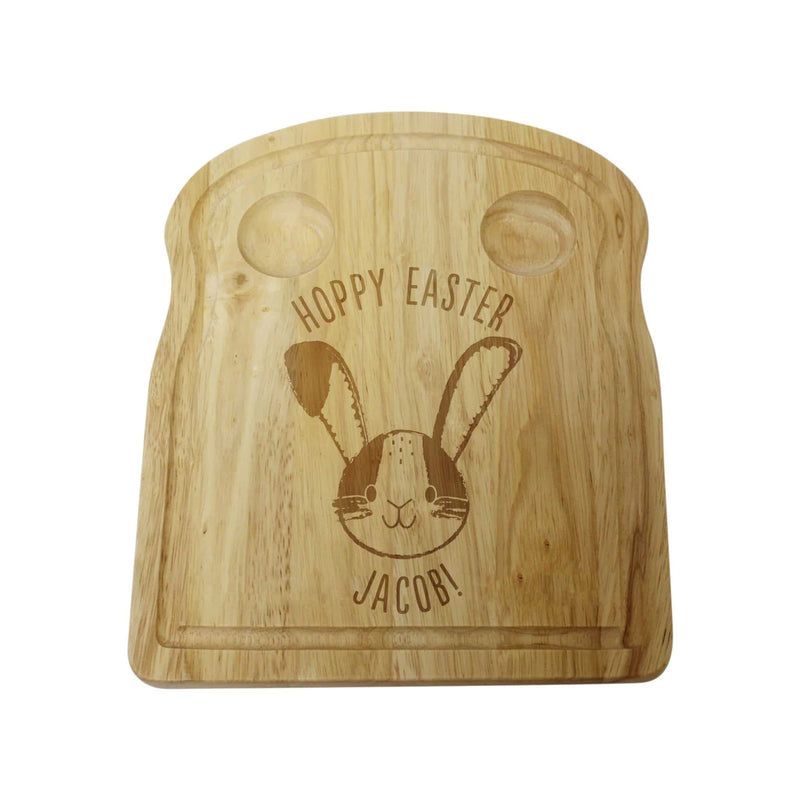Personalised Hoppy Easter Egg and Soldiers Board - The Personal Shop