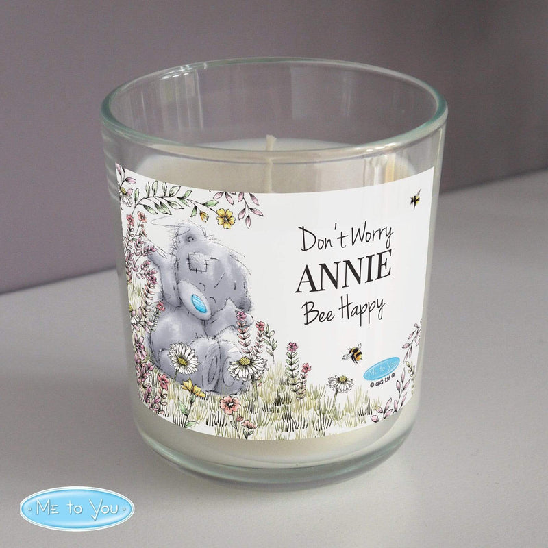 Personalised Me to You Bees Scented Jar Candle - The Personal Shop