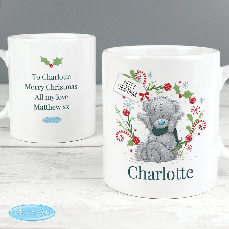 Personalised Me to You 'For, Grandad, Dad' Christmas Mug - The Personal Shop