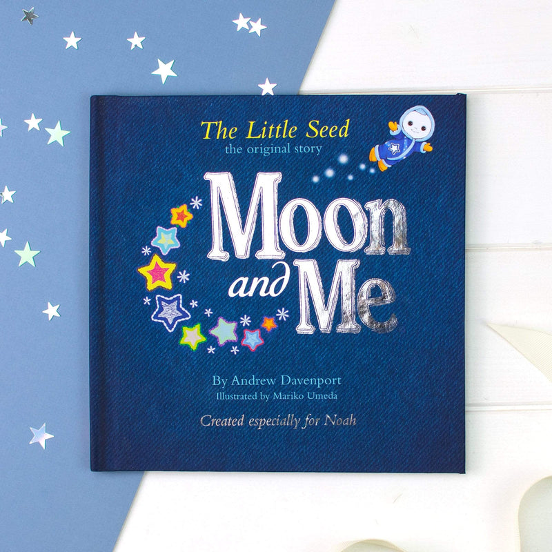Personalised Moon & Me Book - The Personal Shop