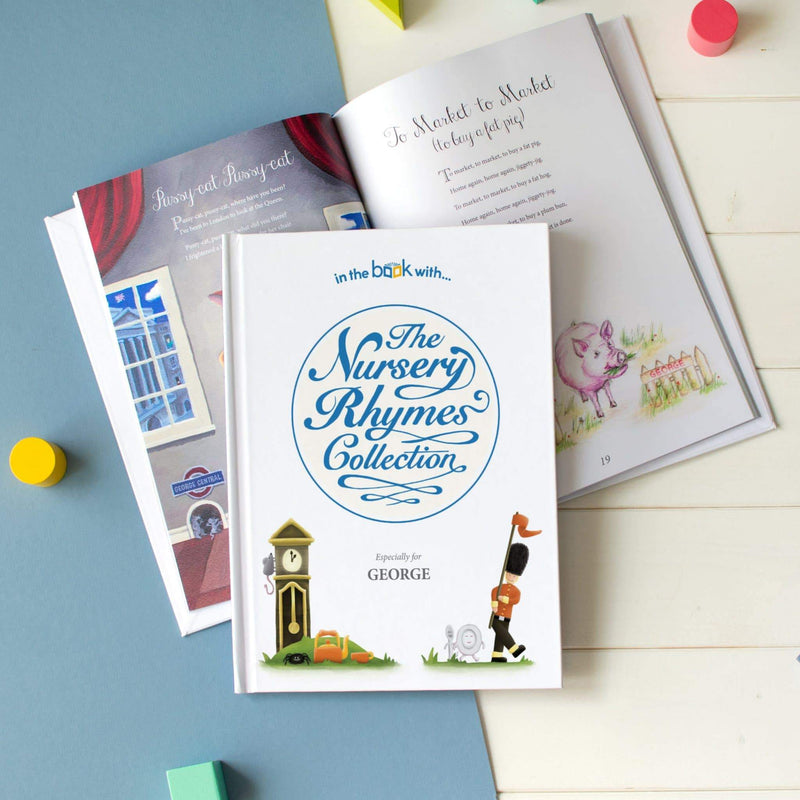Personalised Nursery Rhyme Collection Book - The Personal Shop
