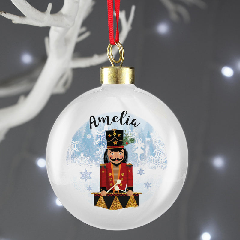 Personalised Nutcracker Bauble - The Personal Shop