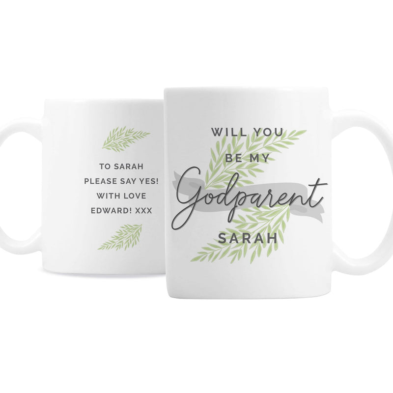 Personalised Godparent Mug - The Personal Shop