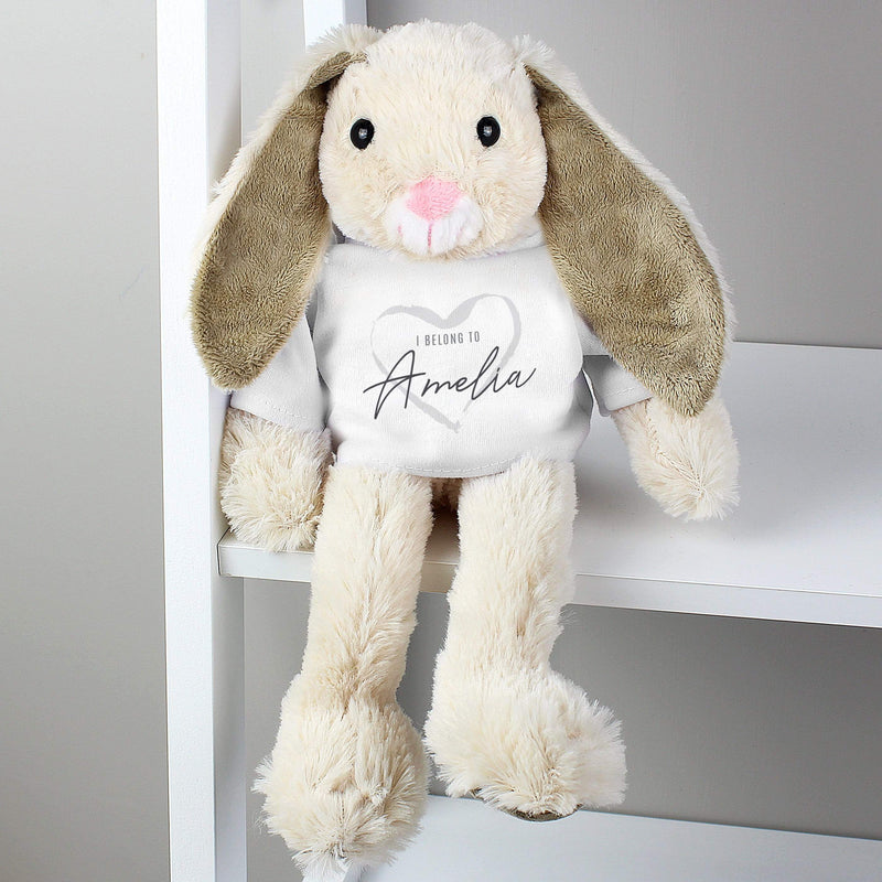 Personalised 'I Belong To' Bunny Rabbit - The Personal Shop