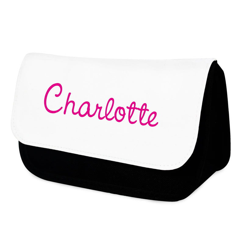 Personalised Pink Name Island Make Up Bag - The Personal Shop