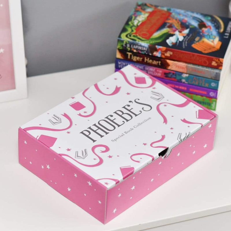 Personalised Reader Book Box Set For Girls - The Personal Shop