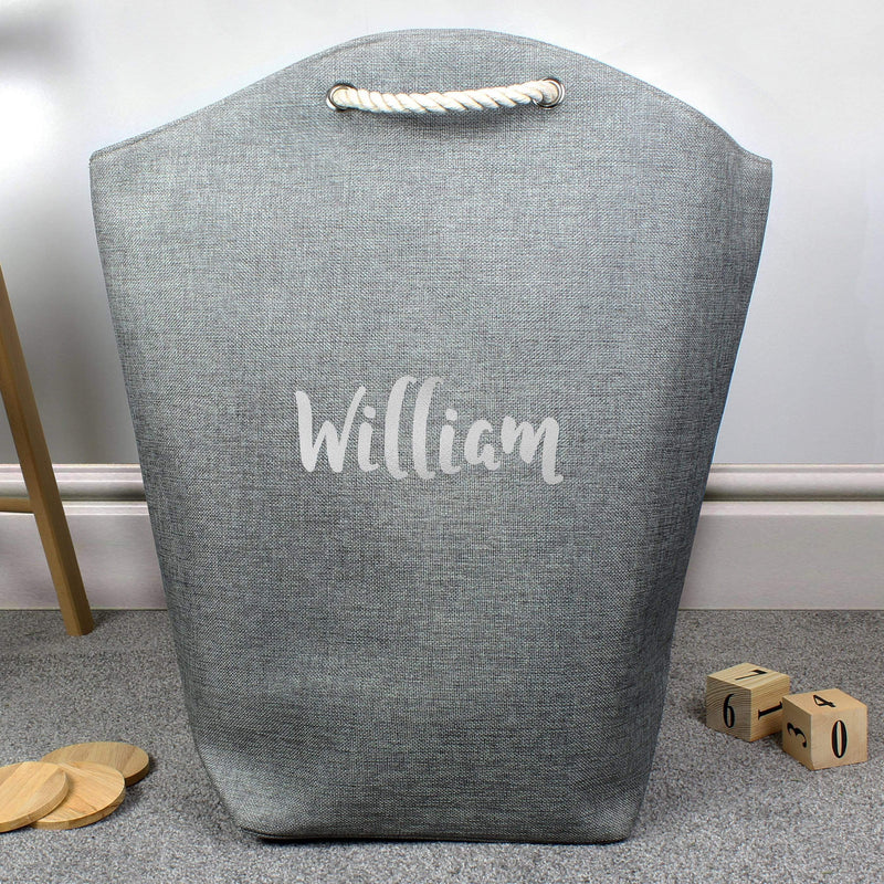 Personalised Silver Name Storage Bag - The Personal Shop