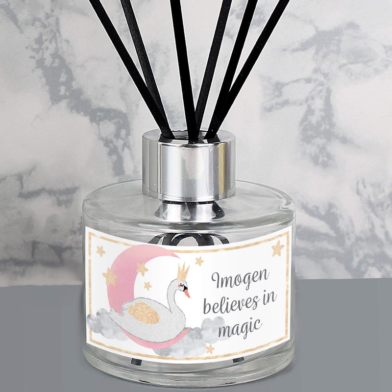 Personalised Swan Lake Reed Diffuser - The Personal Shop