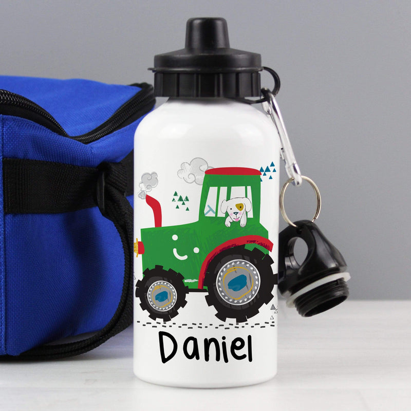 Personalised Tractor Drinks Bottle - The Personal Shop
