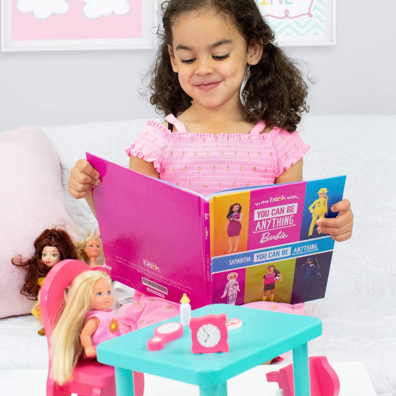 Personalised You Can Be Anything Barbie Book - The Personal Shop