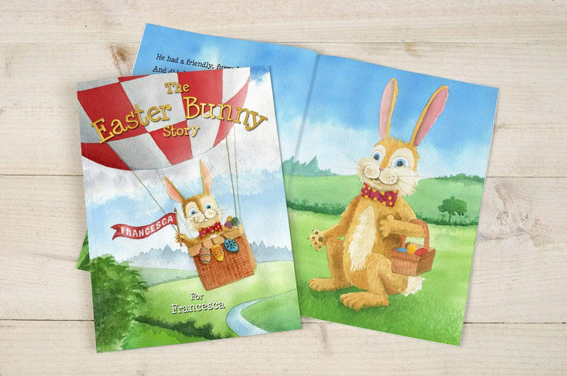 The Easter Bunny Personalised Story Book - The Personal Shop