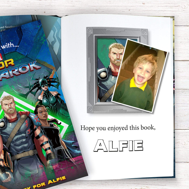 Thor Ragnarok Personalised Marvel Story Book - The Personal Shop