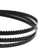 82-Inch X 1/2-Inch X 0.02, 3TPI Carbon Band Saw Blades, 2-Pack