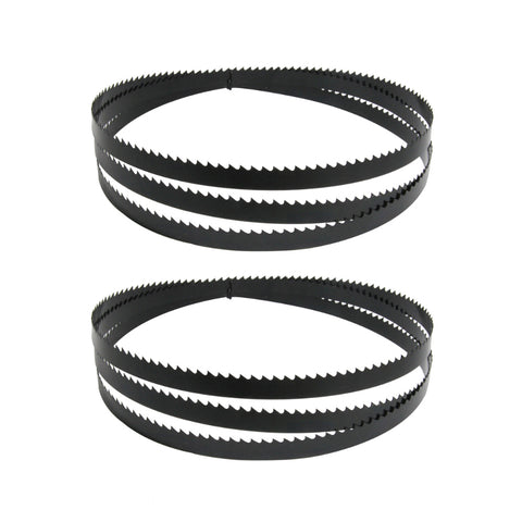 72-Inch X 1/2-Inch X 0.02, 6TPI Carbon Band Saw Blades, 2-Pack
